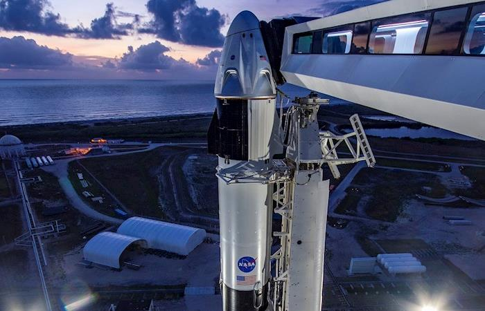 The start of SpaceX spaceflights.