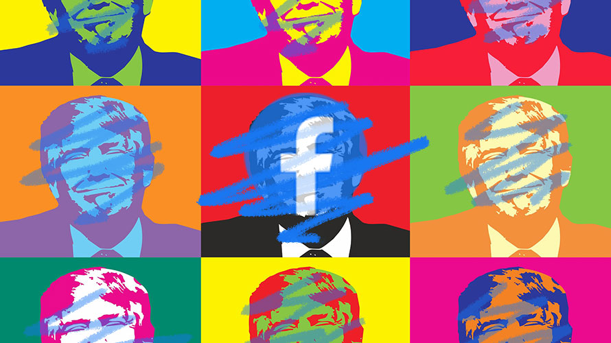 Trump campaign ads banned on Facebook, dangerous precedent