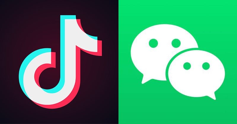 Banning of internet apps TikTok and WeChat in the US