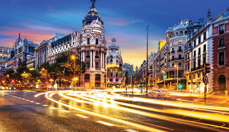 Spain will be one of the European economies with a fall in the largest economy