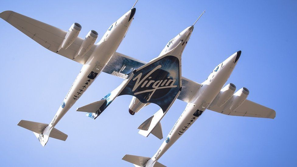 Virgin Galactic was founded in 2004 by British businessman Richard Branson, who had previously founded the Virgin Atlantic airline and the Virgin Group
