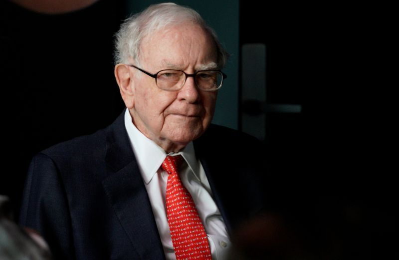 Warren Buffett CEO of Berkshire Hathaway considered one of the most successful investors in the world