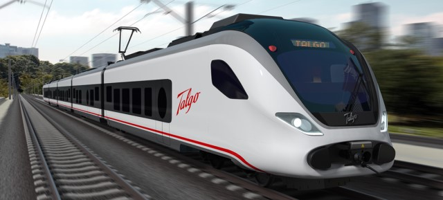 Talgo is a spanish manufacturer of intercity, standard, and high speed passenger trains