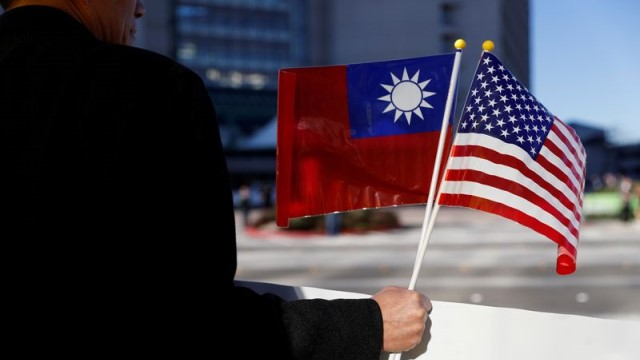 The US has seen that supporting Taiwan hurts China