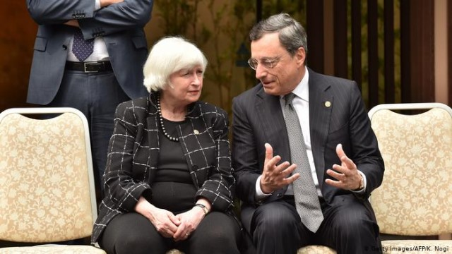 Europe, waiting for the 'tandem effect' Yellen-Draghi